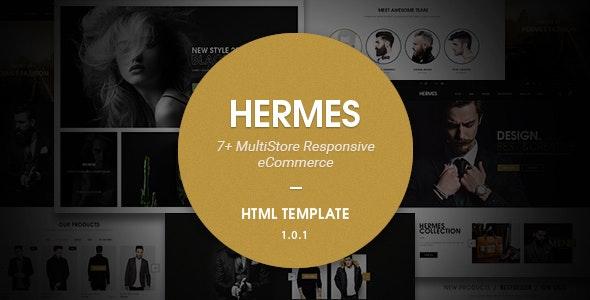 Hermes v1.0.1 — Multi Store Responsive HTML Template