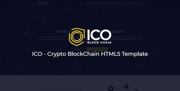 ICO v1.0 — Crypto BlockChain HTML5 Template