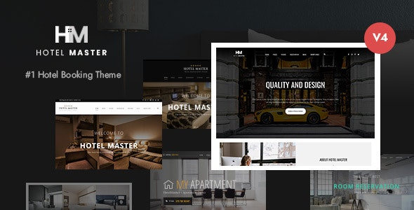 Hotel Master v4.00 — Hotel Booking WordPress Theme