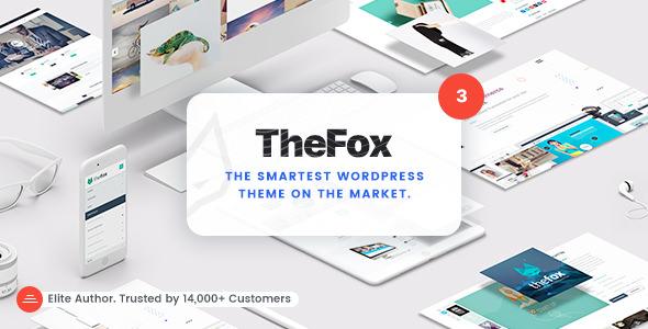 TheFox v3.8.5 — Responsive Multi-Purpose WordPress Theme