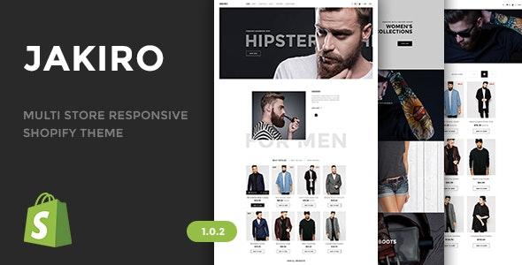 Jakiro v1.0.2 — Multi Store Responsive Shopify Theme