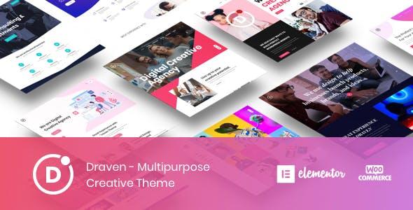 Draven v1.1.1 — Multipurpose Creative Theme