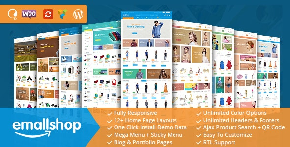 EmallShop v2.2.4 — Multipurpose WooCommerce Theme