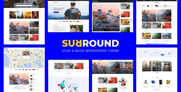 Surround v1.0.1 — Vlog & Blog WordPress Theme