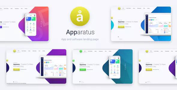 Apparatus v1.4 — A Multi-Purpose One-Page Landing Theme