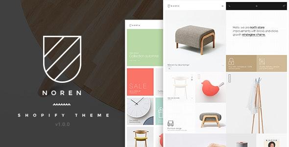 Noren v1.0.0 — Responsive Shopify Theme
