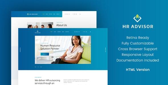 HR Advisor & Business Consulting HTML Template v1.1