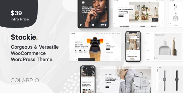 Stockie v1.0.8 — Multi-purpose Creative WooCommerce Theme
