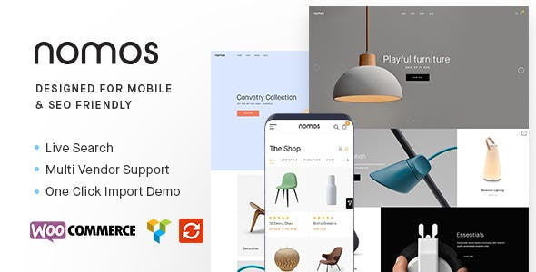 Nomos v2.4.4 — Modern AJAX Shop Designed For Mobile And SEO Friendly (RTL Supported)