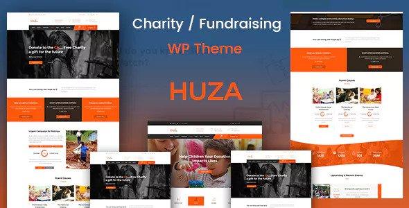 Huza v1.9 — Charity/Fundraising Responsive Theme