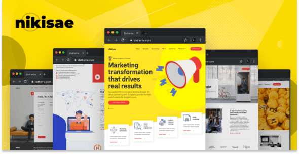 Nikisae v1.0 — Digital Marketing Agency HTML Template