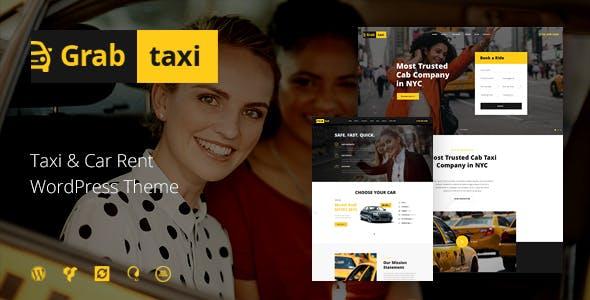 Grab Taxi v1.2.3 — Online Taxi Service WordPress Theme