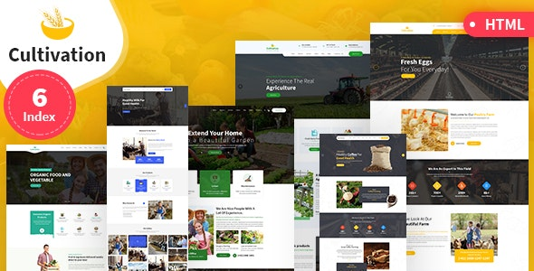 Cultivation Multipurpose Responsive HTML Template v1.0