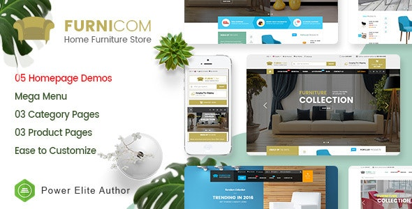 Furnicom v1.0 — Responsive Furniture & Interior HTML Template
