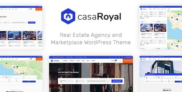 CasaRoyal v1.1.3 — Real Estate WordPress Theme