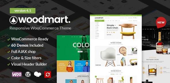 WoodMart v4.1.0 — Responsive WooCommerce Theme