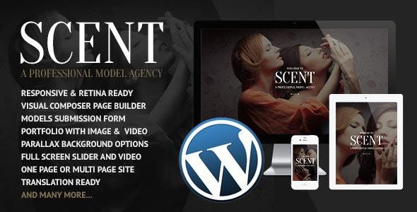 Scent v3.4.3 — Model Agency WordPress Theme