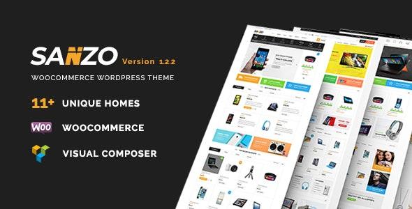 Sanzo v1.2.2 — Responsive WooCommerce WordPress Theme