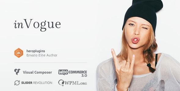 inVogue v1.24.4 — WordPress Fashion Shopping Theme