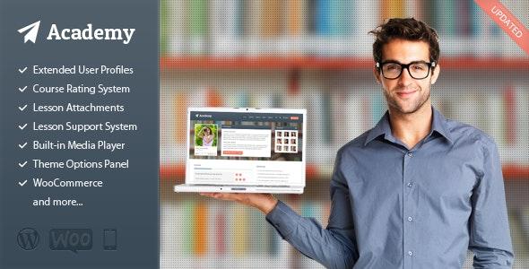 Academy v2.1.9 — Learning Management Theme