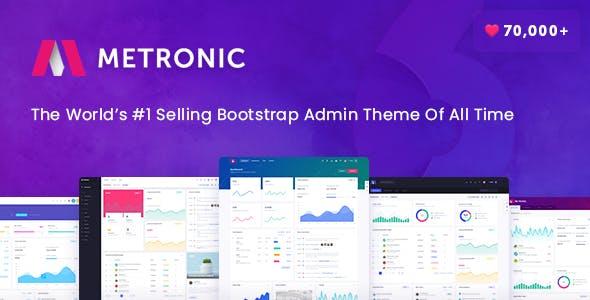 Metronic v6.0.7 — Responsive Admin Dashboard Template