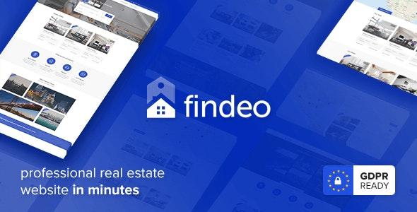 Findeo v1.2.42 — Real Estate WordPress Theme