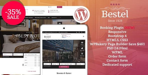 Bestel v1.2.0 —  Hotel WordPress Theme