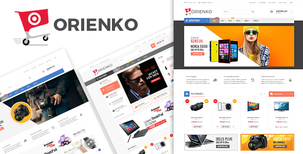 Orienko v1.4.4 — WooCommerce Responsive Digital Theme