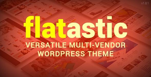 Flatastic v1.8.1 — Themeforest Versatile WordPress Theme