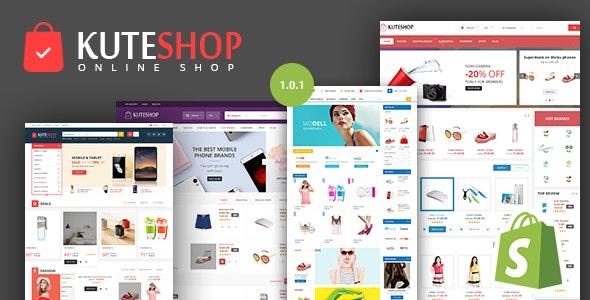 KuteShop v1.0.1 — Super Market Responsive Shopify Theme