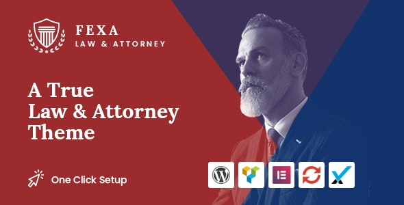 Fexa v1.0.0 — Lawyer & Attorney WordPress Theme