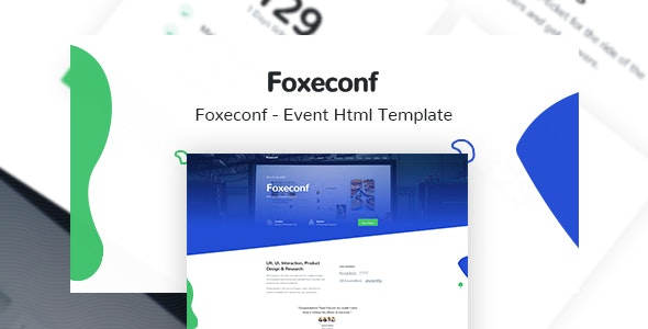Foxeconf v1.0 — Event HTML Template