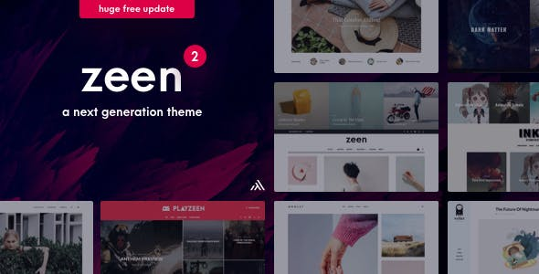 Zeen v2.3.1 — Next Generation Magazine WordPress