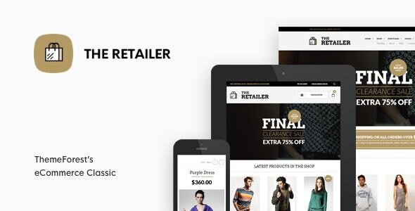 The Retailer v3.0.0 — Responsive WordPress Theme
