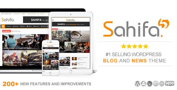 Sahifa v5.6.15 — Responsive WordPress News, Magazine