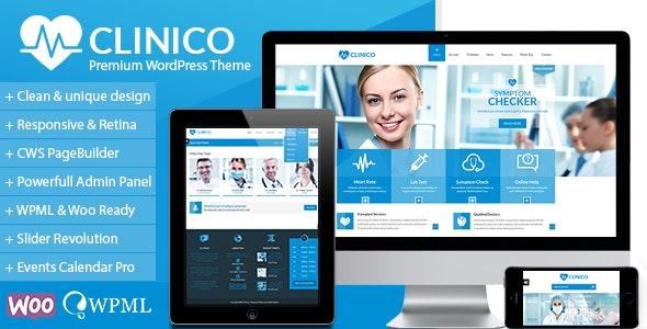 Clinico v1.7.7 — Premium Medical and Health Theme