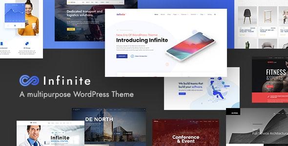Infinite v3.0.1 — Multipurpose WordPress Theme