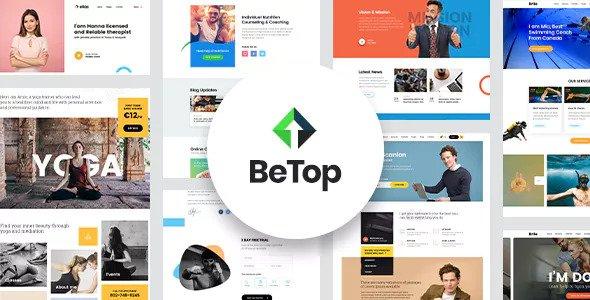 BeTop v1.0.6 — Coaching & Speaker WordPress Theme
