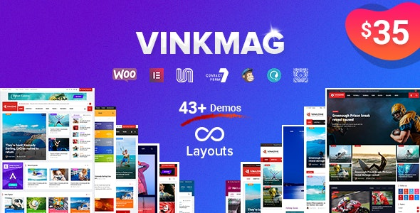 Vinkmag v2.7 — Multi-concept Creative Newspaper