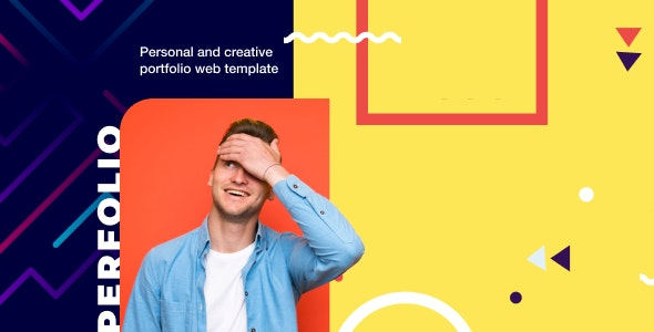 Perfolio v1.0 — Resume & Personal Website HTML Template