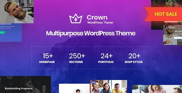 Crown v1.0.0 — Multi Purpose WordPress Theme