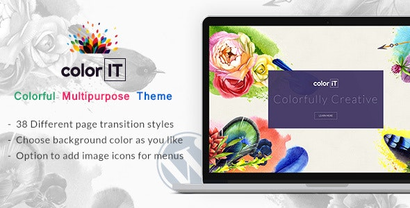 Color Folio v1.2 — Portfolio WordPress