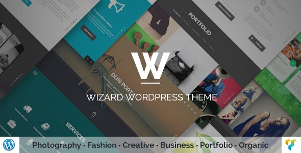 Wizard v3.0 — Fullpage Portfolio WordPress Theme