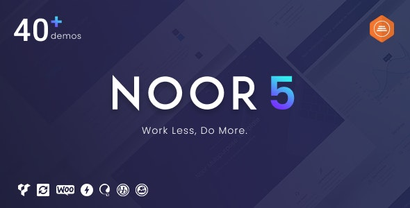 Noor v5.0.0 — Fully Customizable Creative AMP Theme