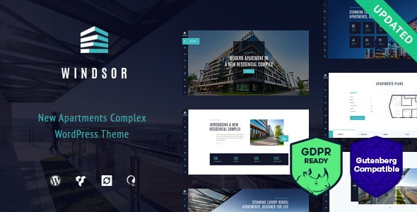 Windsor v1.8.2 — Apartment Complex / Single Property WordPress Theme