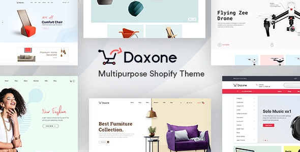 Daxone v1.0.0 — Multipurpose Shopify Theme