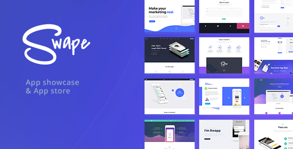 Swape v1.5.2 — App Showcase & App Store Theme