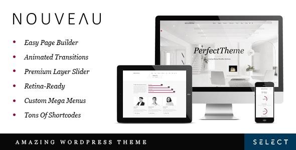 Nouveau v4.0.4 — Multi-Purpose Retina WordPress Theme