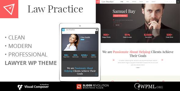 LAW PRACTICE v3.5 — Lawyer Responsive Business Theme