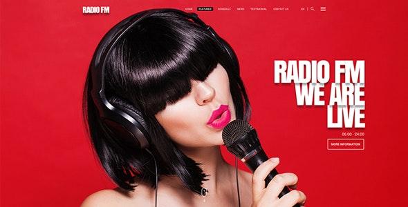 Radio FM v1.0 — HTML Bootstrap Template